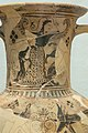 Artemis on amphora of Naxos, Delos, 700-675 BC, AM Mykonos, IA 401, 177226.jpg