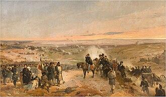 Battle of the Chernaya - La battaglia della Cernaia, Gerolamo Induno.