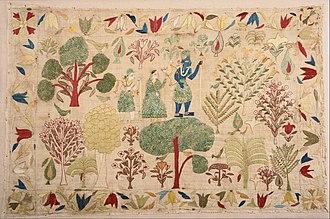 Chamba Rumal - Chamba Rumal, a ceremonial cover