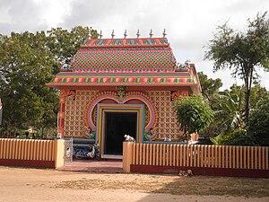 Arumuka Navalar - Arumuka Navalar Memorial hall near Nallur Kandaswamy temple, Jaffna