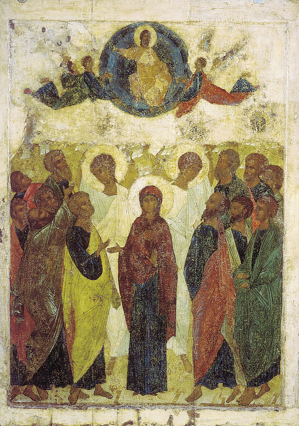 Ascension from Vasilyevskiy chin (15th c., GTG)