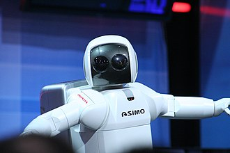 Robot - ASIMO is physically anthropomorphic