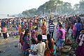 Assembled Devotees - Chhath Puja Ceremony - Baja Kadamtala Ghat - Kolkata 2013-11-09 4243.JPG