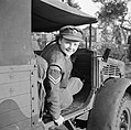 At An ATS Motor Transport Company Training Centre, Camberley, Surrey, 1942 D11072.jpg