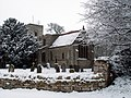At Old Somerby, Lincolnshire - St Mary Magdalene's Church, - Dec 2005.JPG