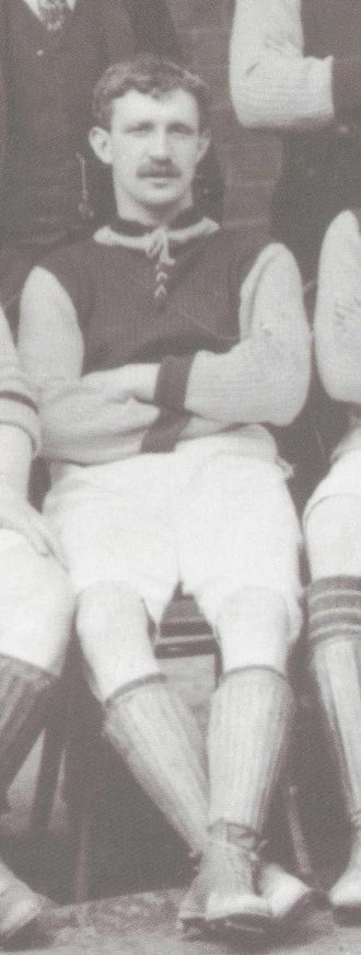 Charlie Athersmith - Charlie Athersmith pictured in Aston Villa colours in 1897