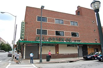 H. L. Green Company - An H. L. Green Storefront in Atlanta, Georgia.