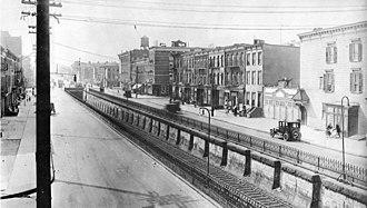 Atlantic Avenue (New York City) - Atlantic Avenue in Brooklyn, 1922
