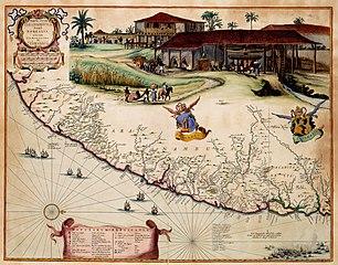 Map of Paranambucae