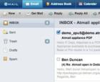 Atmail Webmail screenshot