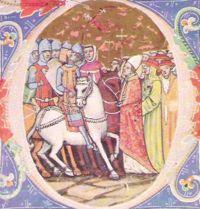 Attilanın Papa Leo I ile görüşmesi