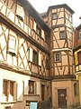 Auberge Storckenhof (rue de la Cigogne, Colmar).JPG