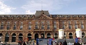Place Kléber - L'Aubette, undergoing restoration