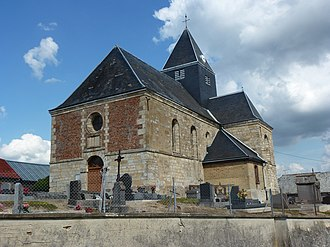 Auboncourt-Vauzelles - The Church