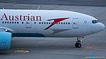 Austrian Airlines Boeing 777-200 OE-LPA (33397279455).jpg