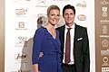 Austrian Sportspeople of the Year 2014 red carpet 14 Maria Höfl-Riesch Marcus Höfl.jpg