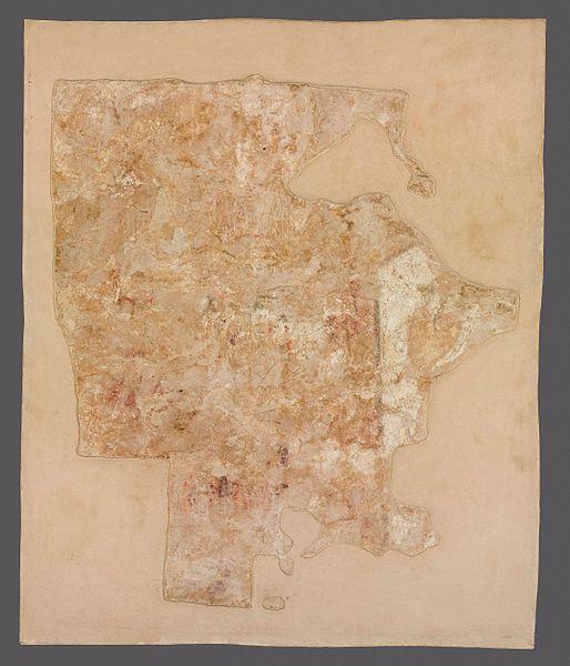 File:Autor nieznany, fragment postaci arcykapłana żydowskiego (Zachariasza lub Aarona). Malowidło ścienne.jpg