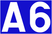 Autoroute 6 shield}}