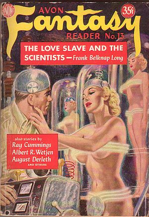 "Frank Belknap Long - Long's 1935 Weird Tales story ""The Body-Masters"" was reprinted in 1950 as ""The Love-Slave and the Scientists""."