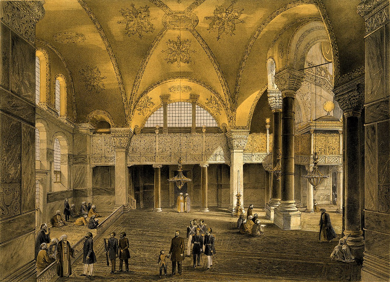Aya Sofia, Constantinople (BM 1889,0603.123).jpg