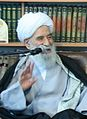 Ayatollah Habibullah Mehman-Navaz met with Iranian Culture Minister Sayyed Mohammad Hosseini 2 (Cropped).jpg