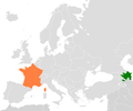 Azerbaijan France Locator.png