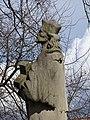Březiněves, park, socha sv. Jana Nepomuckého (03).jpg