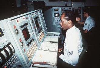 Ballistic Missile Early Warning System - Image: BMEWS Tac Ops Room