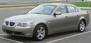 BMW 5 Series (E60) - Image: BMW 5series E60