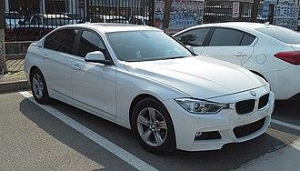 BMW Brilliance - Image: BMW 3 Series F35 Li China 2015 04 13