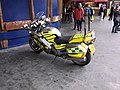BTP motorcycle, Oxford Road (3).JPG