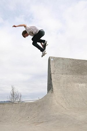 Skateboarding - Skateboarder in Grants Pass, Oregon