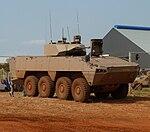 Badger-infanteriegevegsvoertuig, a, Waterkloof Lugmagbasis.jpg