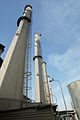 Baghdad South Power Station - October 2003 - chimneys.jpg