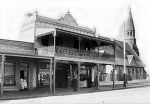 Balmain, New South Wales - Darling Street around 1888