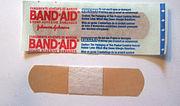 Band aid brand bandage