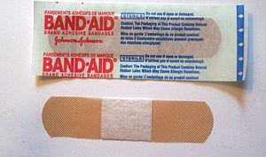 Band-Aid - A Band-Aid brand bandage