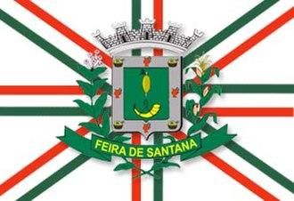 Feira de Santana - Image: Bandeira de Feira de Santana