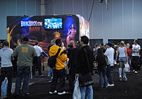 Bangbros booth at AVN Adult Entertainment Expo 2009.jpg