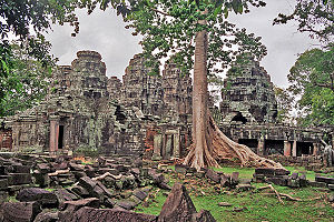1200s in architecture - Image: Banteay Kdei 7