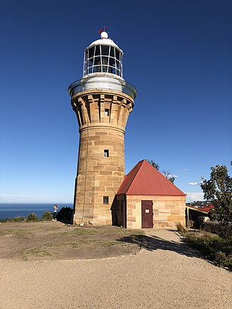Barrenjoey, New South Wales - Barrenjoey Head Lighthouse is situated on the Barrenjoey Headland -photographed  2018