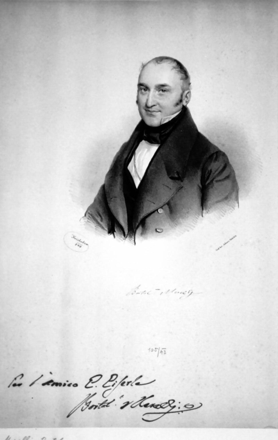 Bartolomeo Merelli Litho
