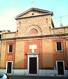 Facciata della Basilica di S. Croce
