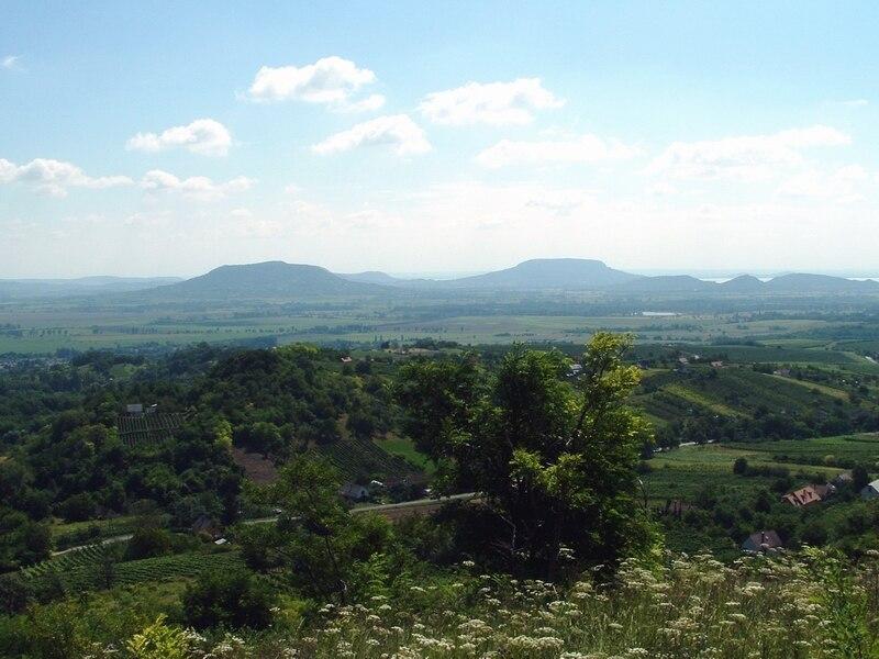 Basin of Tapolca, Balaton Uplands National Park, Hungary - Okt 04