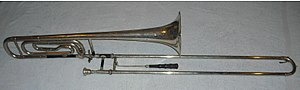 Types of trombone - Bass trombone in G with D valve