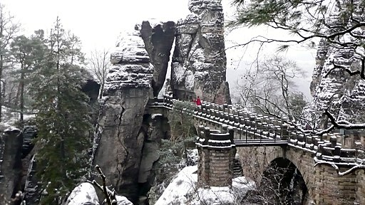 Bastei im Winter 06