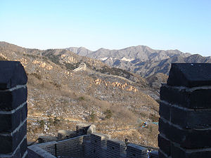 Badaling - The scenery around Badaling from the Great Wall