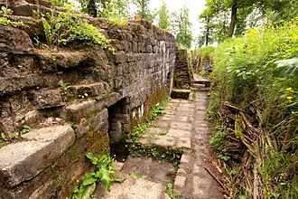 Heuvelland - German concrete bunker at the Bayernwald Trenches in Croonaert Wood