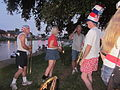 Bayou St John 4th of July NOLA 2012 Bandmembers at Dusk.JPG