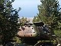 Beşparmak dağlarında tank - panoramio.jpg